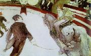 at the cirque fernando the ringmaster Henri de toulouse-lautrec